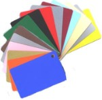 Colored PVC Cards - 500 Qty Box