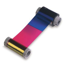 86031-Fargo YMCKO Full Color Ribbon - 400 Prints