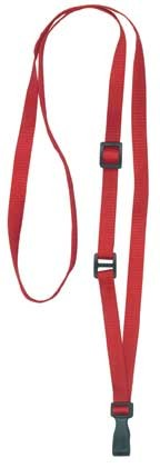 "3/8"" Adjustable Lanyard - Adjusts from 24"" to 44""(100 Pack)"